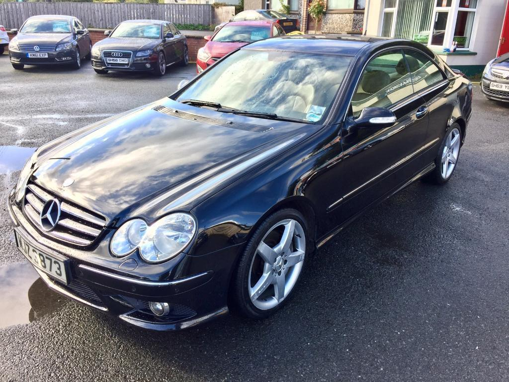 mercedes clk coupe 2009 full leather alloys beautiful car finance this from 35 per week. Black Bedroom Furniture Sets. Home Design Ideas