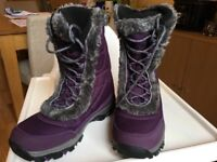 Mountain Warehouse winter waterproof boots - size 4 or 4.5