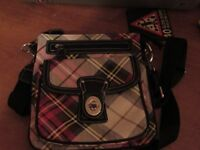 tartan handbag
