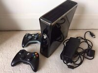 Xbox360 Xbox 360 Slim 250Gb, 2 wireless controllers, HDMI cable, lots of games worth £££