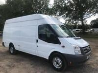 1 OWNER FORD TRANSIT JUMBO 2.4 TDCI 2010 XLWB HIGH ROOF LONG MOT 6 SPEED