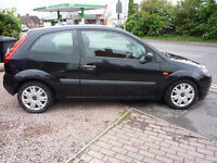 2008 Black Ford Fiesta 1.2 Style Climate. Petrol 3 Door with FULL MOT & FULL SERVICE HISTORY!!!