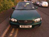 2001 Toyota Corolla automatic low mileage 63k