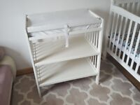 IKEA Gulliver BABY changing table WHITE VGC