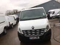 RENAULT MASTER SL35 LOW ROOF.2014.ONE OWNER.LOW MILES