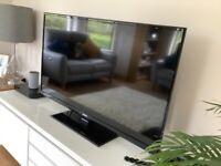Bush 50 inch black Tv
