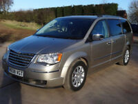 2008 CHRYSLER GRAND VOYAGER 2.8 CRD 7 SEATER 99000 MILES