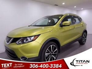 2017 Nissan Qashqai SL|AWD|CAM|Leather|Sunroof|NAV