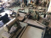 30 industrial machines, Yamato, brother, singer etc. Factory closing down sale