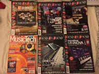 Sound on Sound and Music Tech Magazines - Selection of 6