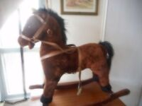 childs rocking horse ( height head24ish seat18ish inches )