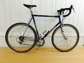 Concorde Columbus Tubing 62 cm Fully Serviced STI Gearing Lightweight Steel Frame Super Fast