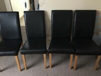 Table and 4 chairs £25.00 ono