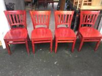 Solid wood chairs 14 Available