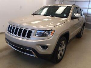2015 Jeep Grand Cherokee Limited- Leather, Heated seats, NAV