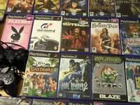 Ps2 + 22 Games bundle