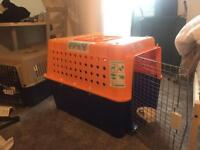 Dog travel crate airline approved