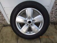 spare tyre & ally wheel for mini countryman never been used