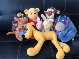 Original Disney soft toys