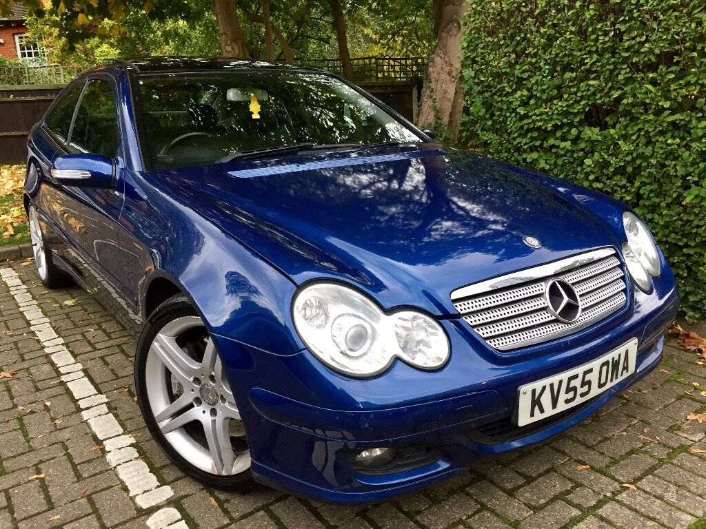 2005 Mercedes-Benz C350 3.5 Coupe 7G-Tronic, Leather, Sat Nav, FSH, HPi Clear