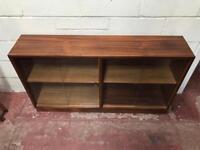 Double door solid wood (teak) bookcase