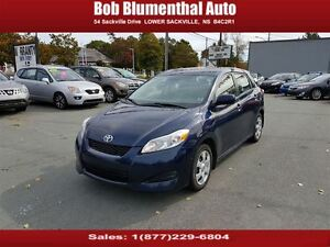 2010 Toyota Matrix XR Auto ($47 weekly, 0 down, all-in, OAC)