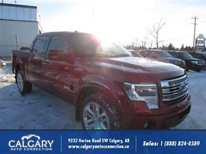 2013 Ford F-150 LIMITED/NAVIGATION/ECO-BOOST