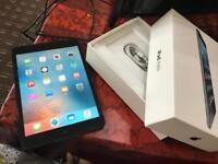 """Apple iPad mini 7.9"""" first generation space grey 16GB WiFi only boxed good condition NO OFR"""