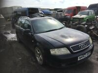 Audi A6 spare parts 1.9 tdi Breaking estate diesel 2000 year parts available