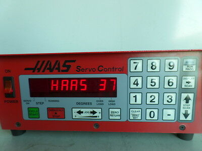 Software-37 Brush 17 Pin Haas Control Box Sco1m Rotary Table Indexer Inv.1604m