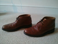 Massimo Dutti boots brown leather size 40