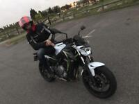 Kawasaki er650hhf, one owner, only 730 miles