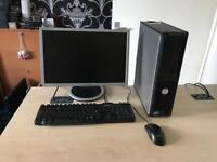 "Dell optiplex 380 intel dual core 2.93ghz 4gb ram 250gb hdd 19"" windows 10 refurbished full system"