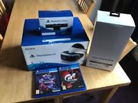 PlayStation VR with stand plus 2 games - new condition
