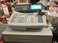 TILL/CASH REGISTER WITH PRODUCT SCANNER, GOOD CONDITION