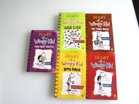 ****~*~*~* 5 books // Diary of a Wimpy Kid // Excellent condition *~*~****