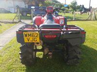 Honda foreman 500cc road legal