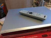 Sony Recordable 160gb hard drive DVD player
