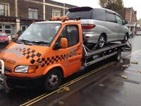 Ford transit recovery truck.