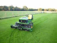JOHN DEERE 2653A RIDE ON TRIPLE CYLINDER MOWER RIDE ON TRACTOR NO VAT