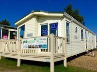 Luxury 3 bed static caravan & 3 Years Site Fees INCLUDED atSeawick clacton essex kent suffolk sussex