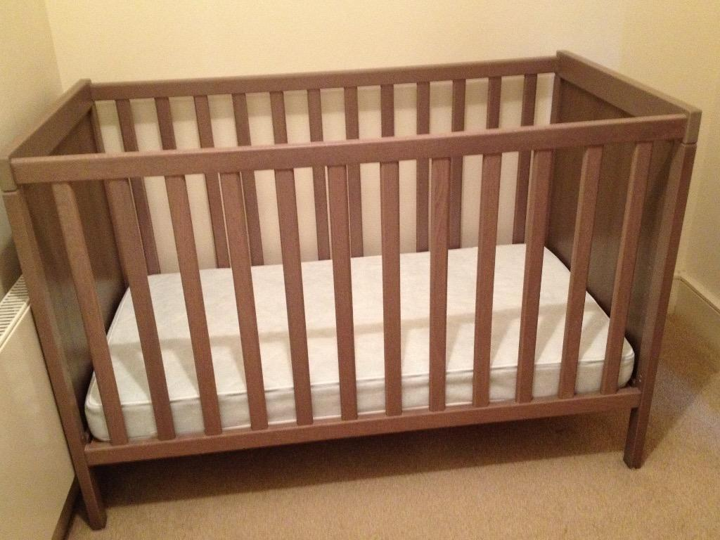 Ikea sundvik cot and mattress for sale in hammersmith for Beds on sale ikea