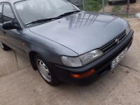 LHD TOYOTA COROLLA , we have more left hand drive ---15 cheap cars on stock---