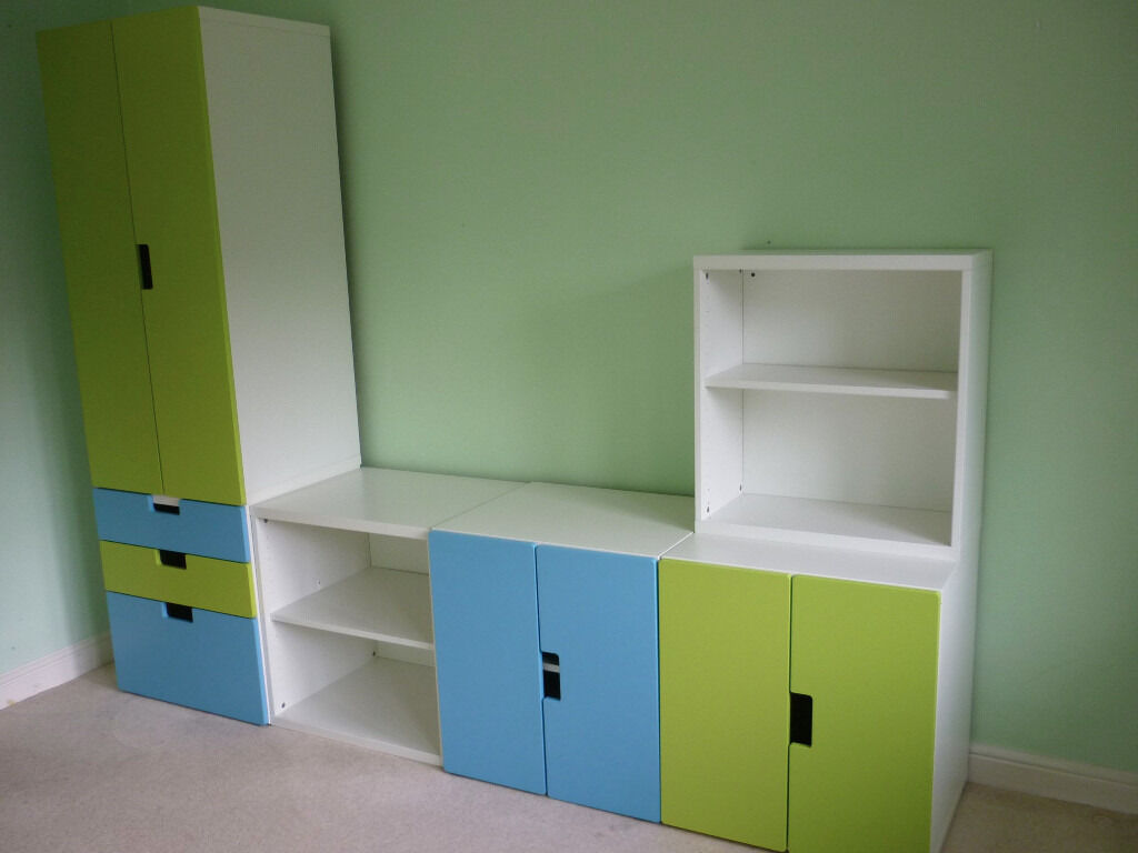 Ikea Stuva Childrens Bedroom Playroom Furniture Storage