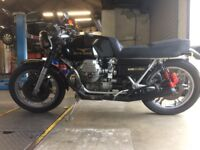 Moto Guzzi Le Mans for Sale. £8,000. 1979. Taxed and Tested. V good condition for age. Great runner.