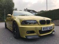 e46 m3 3.2 phoenix yellow FSH
