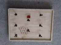 Wooden decorative key holder