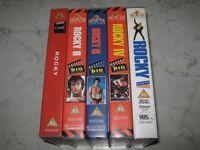 Rocky 1-5 VHS Box set