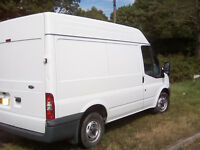 FORD TRANSIT 2010 SWB H/ROOF NO VAT