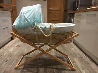 Moses basket & stand (unisex)